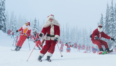 Ski with Santa Day at Whistler Blackcomb
