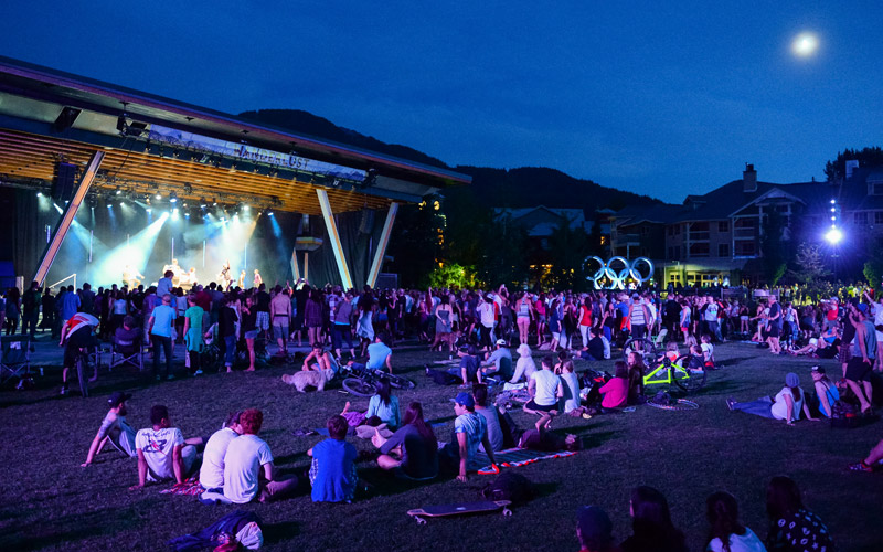 Moonlit Concert in Whistler