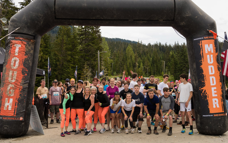 Tough Mudder Start Line