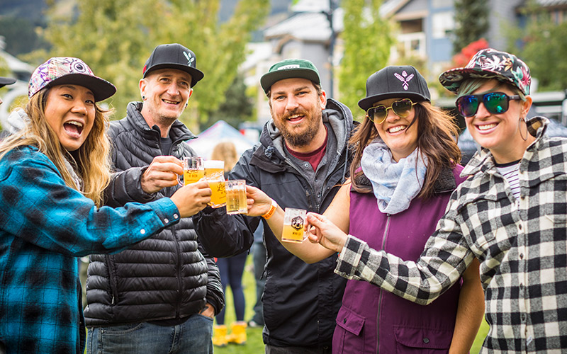Whistler Village Beer Festival Main Event