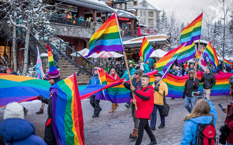 Winter Pride Parade