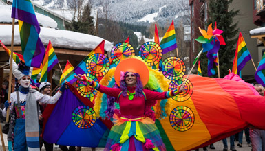 Whistler Pride and Ski Festival Parade