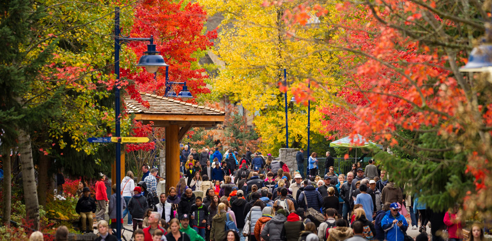 Whistler Village in the Fall