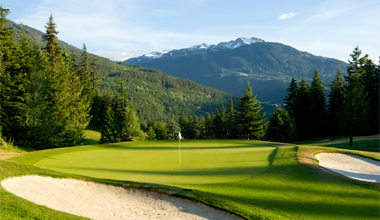 Fairmont Chateau Golf Course Whistler