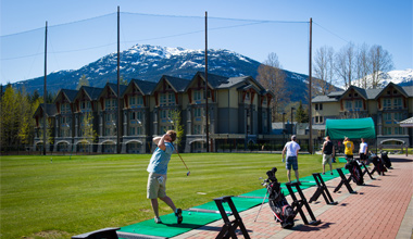 Driving Range near Village