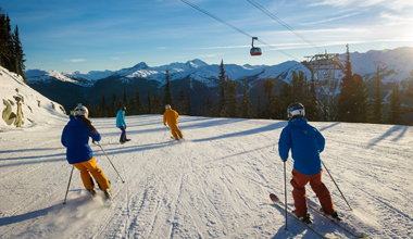 Ski Group on Blackcomb
