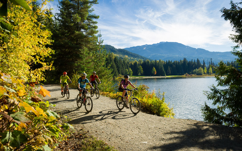 Cycling Whistler