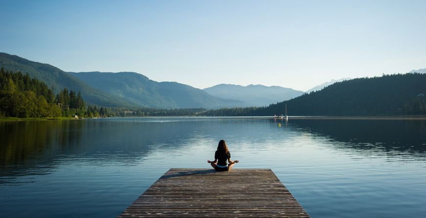 Meditation on Alta Lake