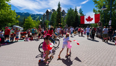 Canada Day Parade in Whistler