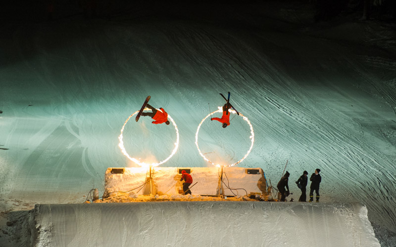 The Fire and Ice Show in Whistler
