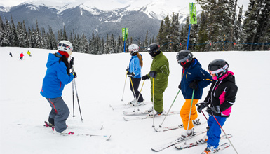 Learning to Ski on Whistler Mountain