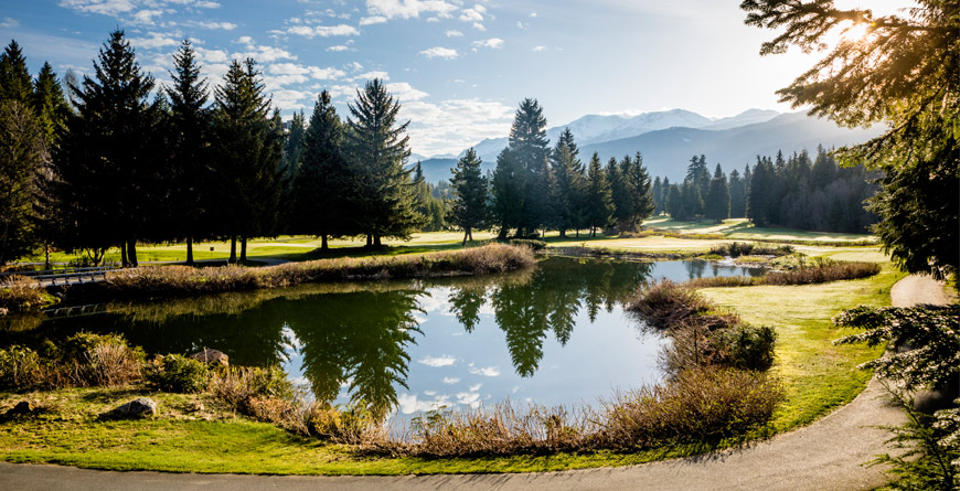 Spring Golf in Whistler BC