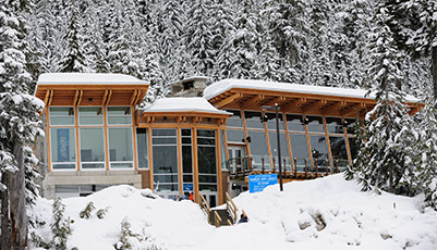 The Lodge at Whistler Olympic Park